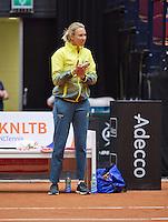 April 18, 2015, Netherlands, Den Bosch, Maaspoort, Fedcup Netherlands-Australia,  Alicia Molik<br /> Photo: Tennisimages/Henk Koster