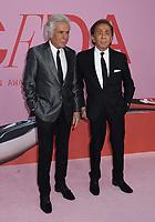 03 June 2019 - New York, New York - Giancarlo Giammetti and Valentino Garavani. 2019 CFDA Awards held at the Brooklyn Museum. <br /> CAP/ADM/LJ<br /> ©LJ/ADM/Capital Pictures
