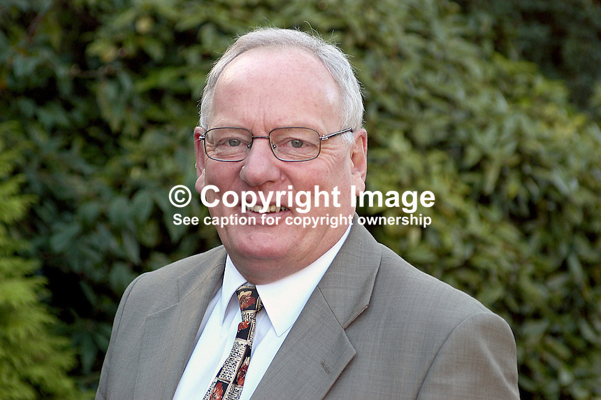 Jeffrey Dudgeon, Belfast, N Ireland - northern secretary of the Irish Association for Cultural, Social and Economic Relations. Author of book on Roger Casement.  Ref: 200210120929.<br /> <br /> Copyright Image from Victor Patterson, 54 Dorchester Park, Belfast, UK, BT9 6RJ<br /> <br /> t1: +44 28 9066 1296 (from Rep of Ireland 048 9066 1296)<br /> t2: +44 28 9002 2446 (from Rep of Ireland 048 9002 2446)<br /> m: +44 7802 353836<br /> <br /> e1: victorpatterson@me.com<br /> e2: victorpatterson@gmail.com<br /> <br /> The use of my copyright images is subject to my Terms &amp; Conditions.<br /> <br /> It is IMPORTANT that you familiarise yourself with them. They are available on my website at www.victorpatterson.com.<br /> <br /> None of my copyright images may be used on a website unless they are visibly watermarked, i.e. &copy; Victor Patterson within the body of the visible image. Metadata denoting my copyright must NOT be deleted. <br /> <br /> Web use is extra at currently recommended NUJ rates.