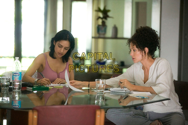 ARCHIE PANJABI & ANGELINA JOLIE.in A Mighty Heart .**Editorial Use Only**.CAP/AWFF.Supplied by Capital Pictures