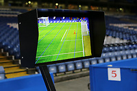 The VAR system back in use for the FA Cup Tie at Stamford Bridge during Chelsea vs Hull City, Emirates FA Cup Football at Stamford Bridge on 16th February 2018
