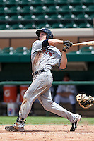Joe Benson (44) of the Ft. Myers Miracle during a game vs. the Lakeland Flying Tigers June 6 2010 at Joker Marchant Stadium in Lakeland, Florida. Ft. Myers won the game against Lakeland by the score of 2-0.  Photo By Scott Jontes/Four Seam Images