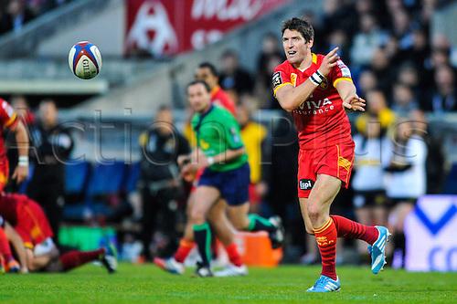 29.03.2014. Bordeaux, France. Top 14 rugby Union. Bordeaux versus Perpignan.  James HOOK (usap)
