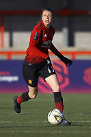 Lizzie Arnot of Manchester United Women during Brighton & Hove Albion Women vs Manchester United Women, SSE Women's FA Cup Football at Broadfield Stadium on 3rd February 2019