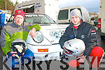 5951-5954.---------.Hand Brake.----------.Todd Falvey and Liam Moynihan from killarney with their beautifully prepared Porsche 911 at last weekends Historic stages rally based in kenmare.