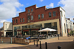 The Tramshed bar and restaurant cafe, Bath, Somerset, England, UK