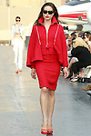 Vanessa walks runway in a Douglas Hannant Resort 2012 outfit, on the USS Intrepid, June 7, 2011.
