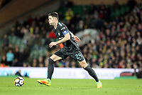 Gary Cahill of Chelsea runs with the ball during Norwich City vs Chelsea, Emirates FA Cup Football at Carrow Road on 6th January 2018