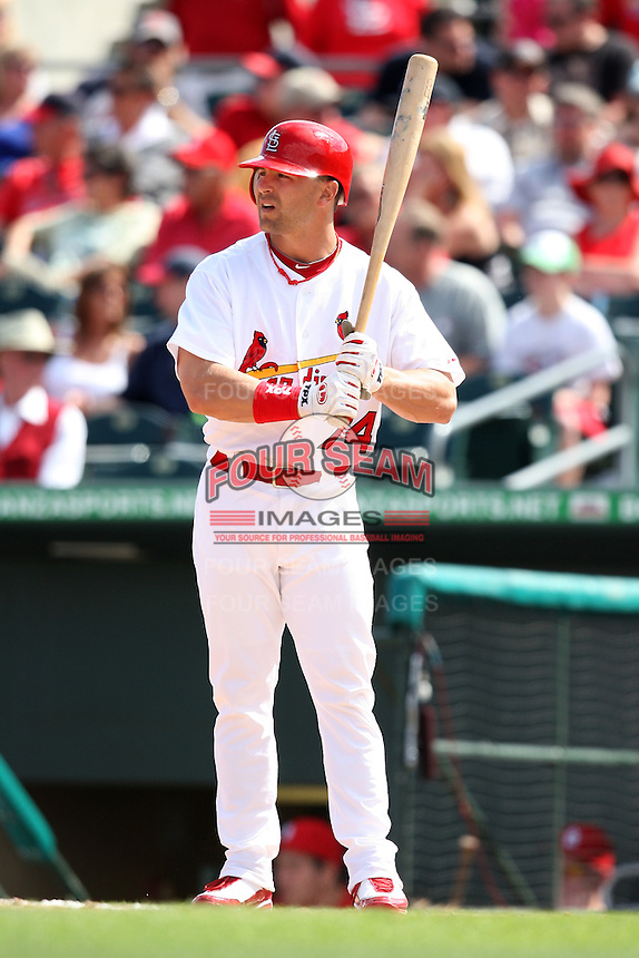 March 20, 2010:  Tyler Henley (74) of the St. Louis Cardinals during a Spring Training game at the Roger Dean Stadium Complex in Jupiter, FL.  Photo By Mike Janes/Four Seam Images