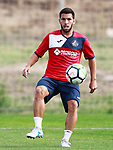 Getafe CF's Dani Pacheco during training session. August 1,2017.(ALTERPHOTOS/Acero)