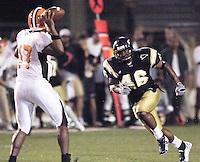 Florida International University Golden Panthers v. Bowling Green University Falcons at Miami, Florida on Saturday, September 16, 2006...Senior linebacker James Black (46)