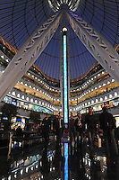 Inside the massive tented shopping center in Astana, the capitol of Kazakstan.<br />