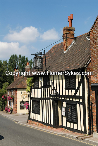 The Leather Bottle Cobham Kent. UK. Charles Dickens used this public house.