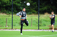 Martin Olsson of Swansea City in action during the Swansea City Training Session at The Fairwood Training Ground, Wales, UK. Tuesday 11th September 2018