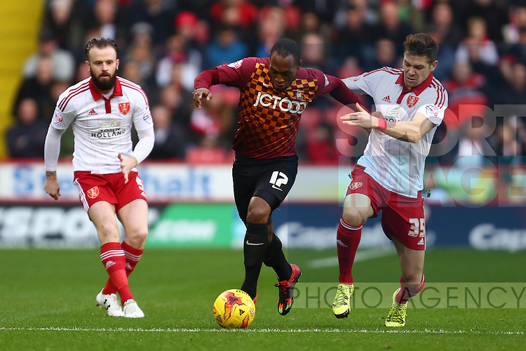 Sheffield United's Dean Hammond - Sheffield United vs Bradford City - Skybet League One - Bramall Lane - Sheffield - 28/12/2015 Pic Philip Oldham/SportImage