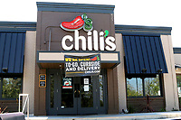LOS ANGELES - APR 11:  Chili's at the Businesses reacting to COVID-19 at the Hospitality Lane on April 11, 2020 in San Bernardino, CA