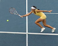 Jie Zheng (CHN) (11) & Zi Yan (CHN) (11) against Serena Williams (USA) (4) & Venus Williams (USA) (4) in the Quarterfinals of the Women's Doubles. Williams & Williams beat Yan & Zheng 7-5 6-4..International Tennis - US Open - Day 10 Wed 09  Sep 2009 - USTA Billie Jean King National Tennis Center - Flushing - New York - USA..© Frey Images, Barry House, 20-22 Worple Road, London, SW19 4DH.Tel - +44 20 8947 0100.Cell - +44 7843 383 012.Email - mfrey@advantagemedianet.com