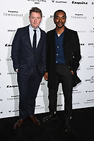 Alex Bilmes and Aki Omoshaybi<br /> arriving for the Esquire Townhouse 2019 launch party, London.<br /> <br /> ©Ash Knotek  D3528 16/10/2019