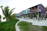 BELIZE, Caye Caulker, rental cottages on the water
