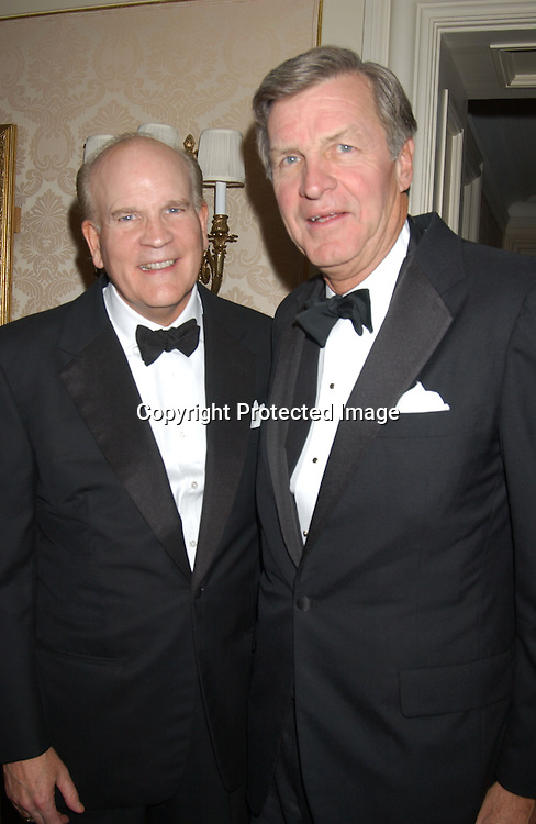 Bob Wright and Jim Robbins                               ..at the American Museum of the Moving Image Gala honoring Bob Wright and Jim Robbins on October 8, 2003..at the St Regis Hotel in New York City. ..Photo by Robin Platzer, Twin Images