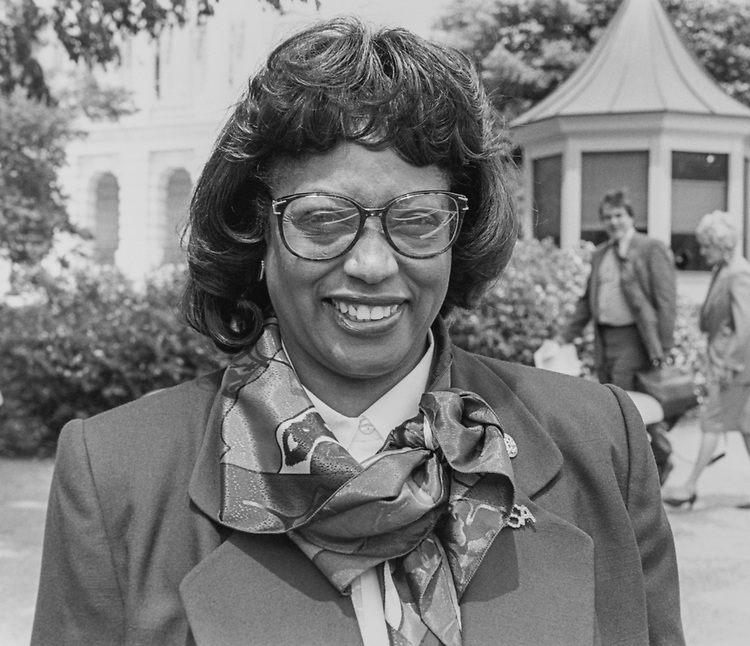 Rep. Corrine Brown, D-Fla., on May 17, 1993. (Photo by Chris Martin/CQ Roll Call via Getty Images)