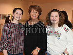 Ellen, Muriel and Niamh Tester at Seán Tester's show in the Droichead Arts Centre. Photo:Colin Bell/pressphotos.ie