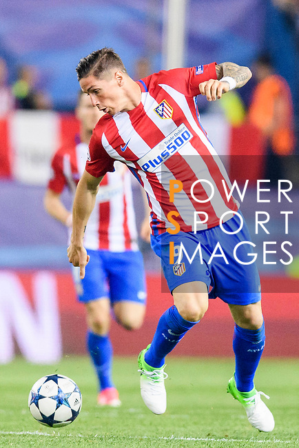 Fernando Torres of Atletico de Madrid in action during their 2016-17 UEFA Champions League Quarter-Finals 1st leg match between Atletico de Madrid and Leicester City at the Estadio Vicente Calderon on 12 April 2017 in Madrid, Spain. Photo by Diego Gonzalez Souto / Power Sport Images