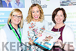 Lisa O'Carroll and Fiona Leahy Kerry Local Enterprise officers and Antoinette Butler Irish Host Family at the Local Enterprise Offices National Womens Enterprise day in the Brehon Hotel on Wednesday