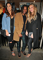 Darby Ward, guest and Taylor Ward at the K-Way flagship store opening party, K-Way, Henrietta Street, London, England, UK, on Wednesday 04 October 2017.<br /> CAP/CAN<br /> &copy;CAN/Capital Pictures