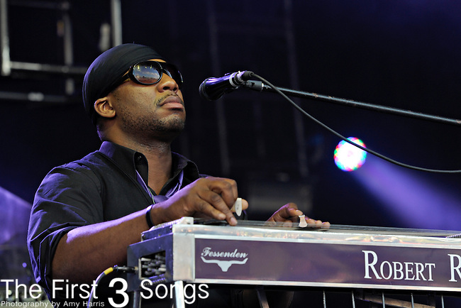 Robert Randolph and the Family Band perform during Day 2 of the Orlando Calling music festival at Citrus Bowl Park in Orlando, Florida on November 13, 2011.