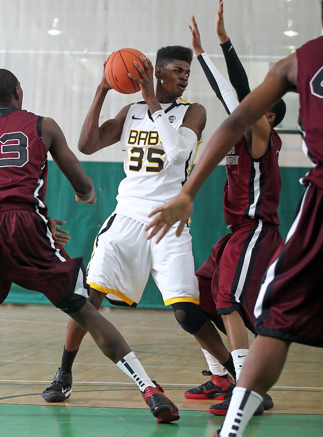 April 8, 2011 - Hampton, VA. USA; Nerlens Noel participates in the 2011 Elite Youth Basketball League at the Boo Williams Sports Complex. Photo/Andrew Shurtleff