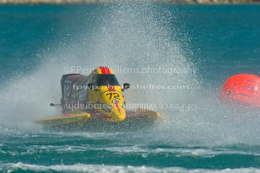 8-10 August 2008  Algonac, MI USA.Lynn Simberger races through the rough stuff..©F.Peirce Williams 2008