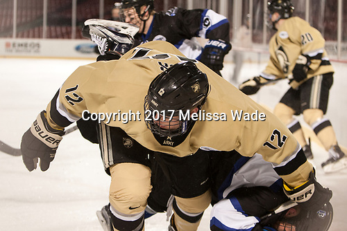 Blake Box (Army - 12) - The Bentley University Falcons defeated the Army West Point Black Knights 3-1 (EN) on Thursday, January 5, 2017, at Fenway Park in Boston, Massachusetts.The Bentley University Falcons defeated the Army West Point Black Knights 3-1 (EN) on Thursday, January 5, 2017, at Fenway Park in Boston, Massachusetts.