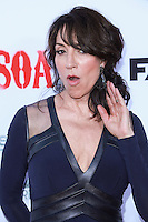 HOLLYWOOD, LOS ANGELES, CA, USA - SEPTEMBER 06: Katey Sagal arrives at the Los Angeles Premiere Of FX's 'Sons Of Anarchy' Season 7 held at the TCL Chinese Theatre on September 6, 2014 in Hollywood, Los Angeles, California, United States. (Photo by David Acosta/Celebrity Monitor)