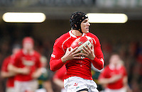 Photo: Richard Lane/Richard Lane Photography..Wales v South Africa. Prince William Cup. 24/11/2007. .Wales' Tom James.