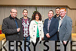 Tom Scanlon, Ger Maguire, Siobhan McCrohan, Con O'Keeffe, Pat Knightly, Sean Joy enjoying the Lee Strand christmas party at the Brandon Hotel on Saturday