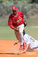 St. Louis Cardinals minor league player Ronnie Gil #41 during a spring training game vs the New York Mets at the Roger Dean Sports Complex in Jupiter, Florida;  March 24, 2011.  Photo By Mike Janes/Four Seam Images
