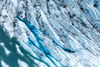 Aerial view of Knik Glacier in Southcentral Alaska<br /> <br /> Photo by Jeff Schultz/SchultzPhoto.com  (C) 2018  ALL RIGHTS RESERVED<br /> OM Malik photo tour workshop August-September 2018