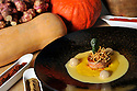 08/11/12 - PONT D ALLEYRAS - HAUTE LOIRE - FRANCE - Etablissement Le Haut Allier. Recette preparee par Philippe Brun, une etoile au Michelin - Photo Jerome CHABANNE