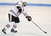 Anthony Bitetto (Northeastern - 7) - The visiting St. Francis Xavier University X-Men defeated the Northeastern University Huskies 8-5 on Sunday, October 2, 2011, at Matthews Arena in Boston, Massachusetts.