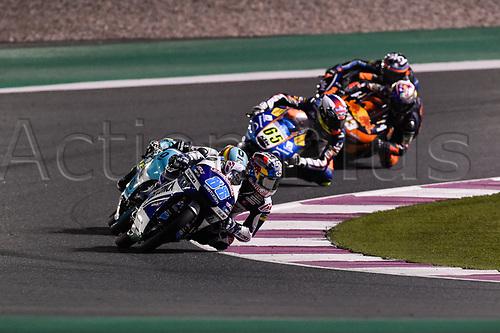 March 26th 2017, Doha, Qatar; MotoGP Grand Prix Qatar; Moto3 rider Jorge Martin (Gresini)