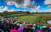 30th September 2017, Windross Farm, Auckland, New Zealand; LPGA McKayson NZ Womens Open, third round;  General views of the 17th green