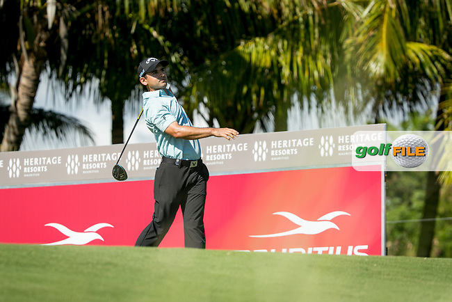 Fabrizio Zanotti (PAR) during the 1st round of the AfrAsia Bank Mauritius Open, Four Seasons Golf Club Mauritius at Anahita, Beau Champ, Mauritius. 29/11/2018<br /> Picture: Golffile | Mark Sampson<br /> <br /> <br /> All photo usage must carry mandatory copyright credit (© Golffile | Mark Sampson)