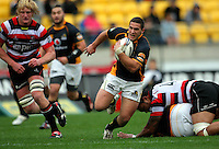 Wellington second five Shaun Treeby. ITM Cup - Wellington Lions v Counties-Manukau Steelers at Westpac Stadium, Wellington, New Zealand on Sunday, 8 August 2010. Photo: Dave Lintott/lintottphoto.co.nz.