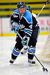 21 February 2009: University of Maine Black Bears' defenseman Ashley Norum, a Freshman from Fairbanks, Alaska, in action against the University of Vermont Catamounts at Gutterson Fieldhouse in Burlington, Vermont. The Catamounts shut out the Black Bears 1-0. Mandatory Photo Credit: Ed Wolfstein Photo