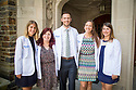 Duke Doctor of Physical Therapy Division Class of 2017 White Coat Ceremony at Duke Chapel and class group photo on Chapel steps.