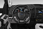 Car pictures of steering wheel view of a 2016 Ford F 150 XL 2 Door Pickup Steering Wheel