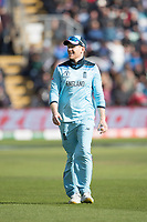 Eoin Morgan (England) all smiles during England vs Bangladesh, ICC World Cup Cricket at Sophia Gardens Cardiff on 8th June 2019