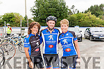 The Abbey Classic charity sportive was held on Sunday last August 14th in aid of St. Gabriel's School & Centre, Limerick. The event started at 10am from Fr. Casey's GAA clubhouse Abbeyfeale  , a choice of two routes were available for participants, a 60km and a 110km and all proceeds from the event went to charity. The weather was perfect for cycling and the big turnout more than earned their post cycle refreshments! From Rathmore and members of Sliabh Luachra Cycling Club<br /> Mary Finn, Pat McAuliffe & Hannah O' Connor.