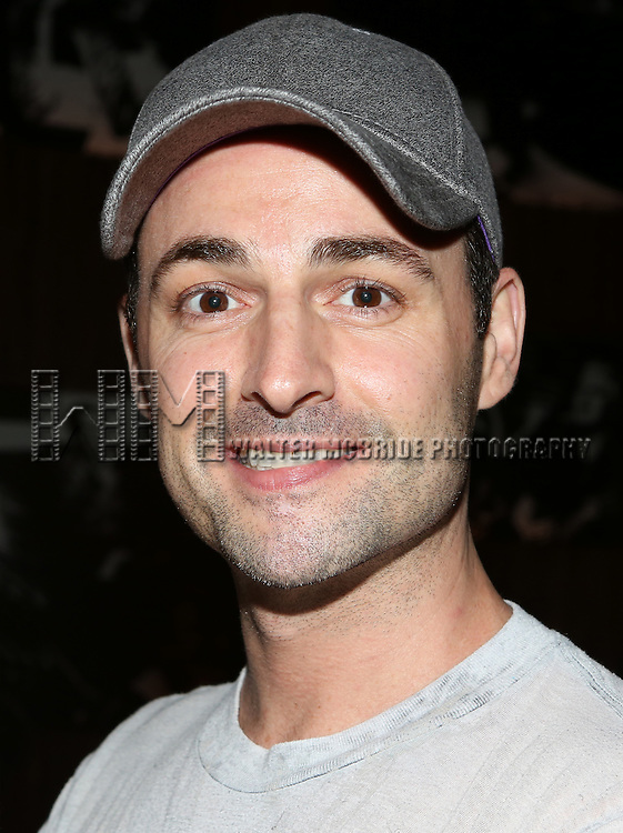 Max Von Essen posing for the 'Wake Up with Broadwayworld.com' campaign at Joe's Pub on June 16, 2014 in New York City.